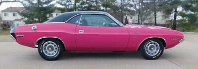 1970 DODGE Challenger  1970 DODGE CHALLENGER PANTHER PINK FM3 RESTORED 440 SIX PACK LOADED AMAZING W@W!