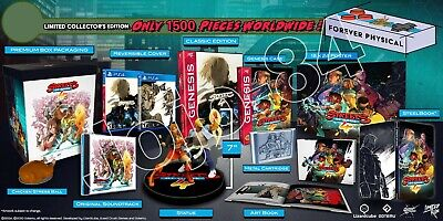 Street Of Rage 4 Limited Edition PLAYSTATION 4 SOLDOUT