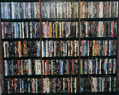 Huge Collection of DVD Movies. Take your pick. Discount on quantity