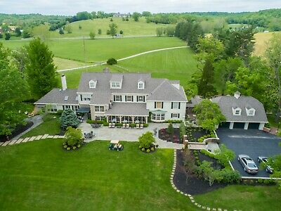 Safe Haven Luxury Estate - 90 Acres w 14,000 sf House, Cabins, Cottages and Pool