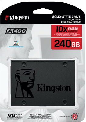 "Kingston A400 2.5"" 240GB  SSD SATA III 2.5 inch Solid State Drive for Laptop"