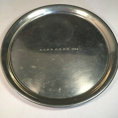 Eastern English Springer Spaniel Club BOSEESSC 1962 Winners Dog 11'' Pewter Tray