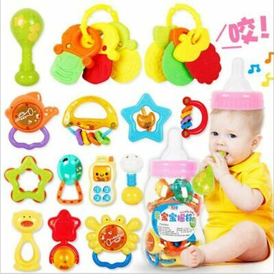 Rattle Teether Set Baby Toy Newborn Toys for Baby, Educational , Newborn,20pcs