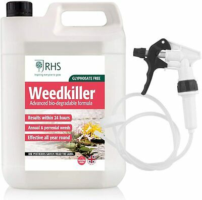 5L Industrial Weed Killer Strong Professional Glyphosate Free Formula Herbicide