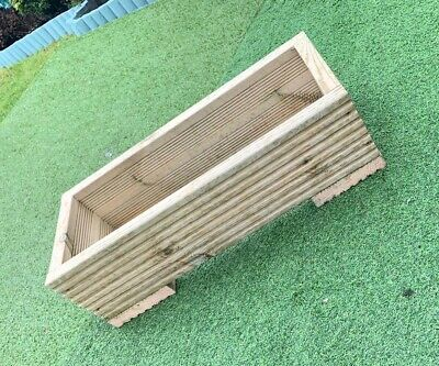 Wooden Decking Planter Box, Herb Box / Flower Box / Window Box