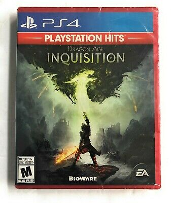 Dragon Age: Inquisition Sony PlayStation 4, HITS PS4 BRAND NEW SEALED