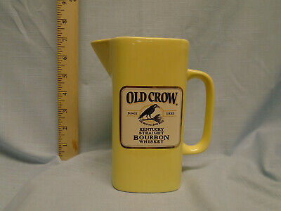 Old Crow / Wade Yellow water pitcher