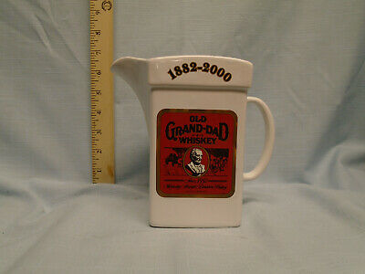 Old Grand Dad / Wade White water pitcher