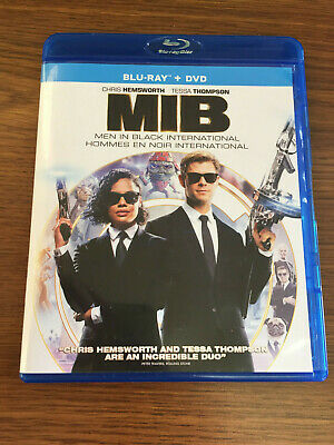 Men In Black International [Blu-ray + DVD] Chris Hemsworth