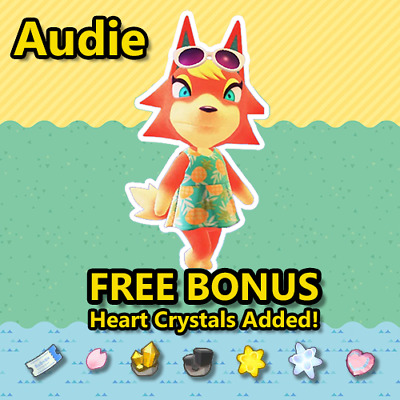 Animal Crossing New Horizons Villager: Audie