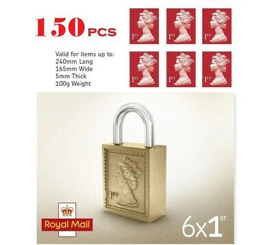 120 x BRAND NEW 1st Class Postage Stamps -Small - Genuine Royal Mail - UK Seller