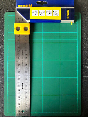 """Irwin / Stanley High Quality 12"""" 300mm Try Set Square irwin"""