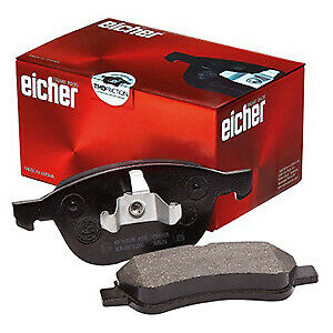 Renault Scenic II 2.0 MPV 133bhp Front Brake Pads /& Discs 280mm Vented