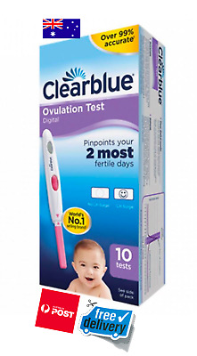 Clearblue Digital Ovulation Test 10 Pack *FREE DELIVERY*