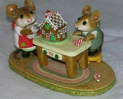 Wee Forest Folk Home Sweet Home 1997 Retired Petersen Mice