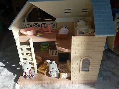 Sylvanian Families Bluebell Cottage Bundle inc Furniture, Accessories & Figures