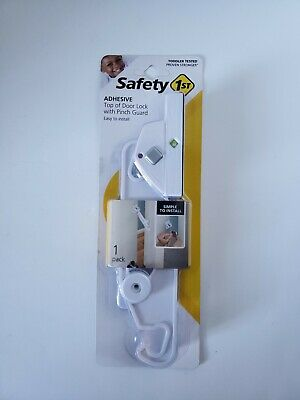 Safety 1st Adhesive Top of the Door Lock w/Pinch Guard HS311 *NEW*