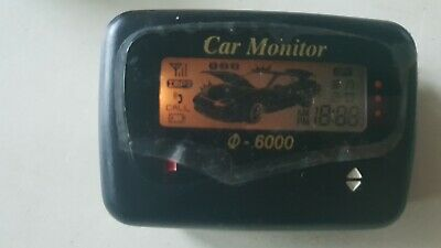 rar CAR GUARD MONITOR defender pentagon alarmanlage pkw alarm pager sicherheit
