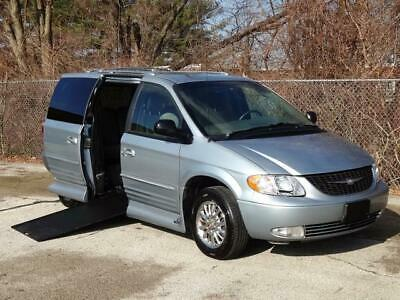 2002 Chrysler Town & Country Limited VMI HANDICAP WHEELCHAIR RAMPVAN 58K Ml LOW MILES POWER RAMP MOBILITY WORKS BRAUN ABILITY ENTERVAN Q'STRAINT TIE-DOWNS