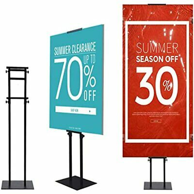 YDisplay Heavy Duty Poster Board Stand Pedestal Sign Holder With Non-slip Mat Up
