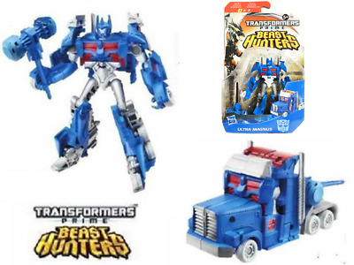 Transformers Prime Beast Hunters Ultra Magnus Cyberverse Action Figures Toy Gift