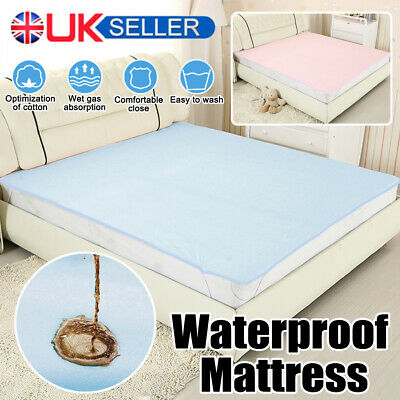 1mx2m Washable Waterproof Incontinence Bed Sheets Seat Pads Protection Mattress