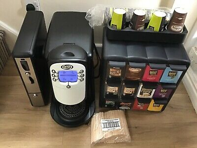 Flavia Creation 400 Drinks vending  Machine Serviced Coin pod and merchandiser