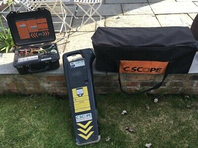 C-Scope Radio Detection Cable Locator Cat & Genny Cable Avoidance Detector Scann
