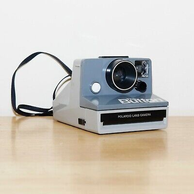 Polaroid Land 'The Button' Instant Camera / Great Condition