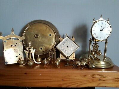 miscellaneous Anniversary/400day clock parts..eleven pieces