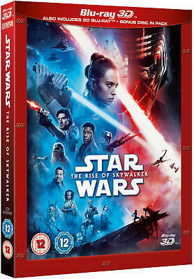 STAR WARS: THE RISE OF SKYWALKER [Blu-ray 3D + 2D] UK Exclusive 3D - IN STOCK!