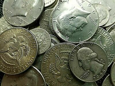 $10 Face Value US Minted 40% & 90% Silver Investment Coins! No Junk! Stock up!