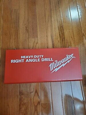 Milwaukee Heavy Duty Right Angle Drill Kit (1107-1 only used once!)