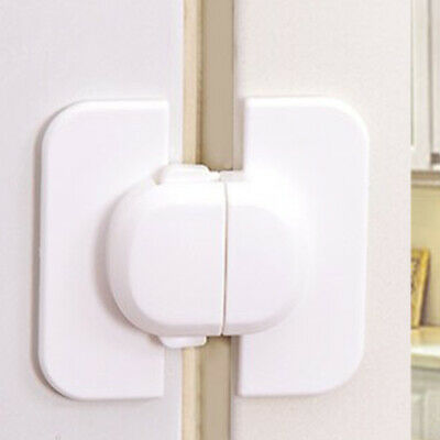 Baby Kid Child Safety Lock Proof Cabinet Cupboard Drawer Fridge Pet Door Useful