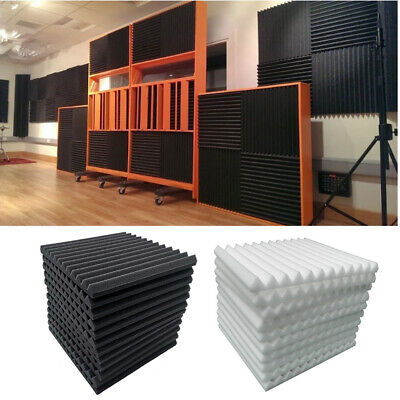 Acoustic Foam Panels Soundproofing Sound Insulation Studio Foam Tiles Wall Tiles