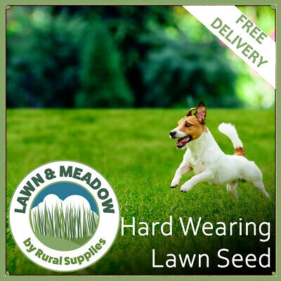 Hard Wearing Grass Seed for Garden Lawns  - FAST GROWING & MULTI-PURPOSE