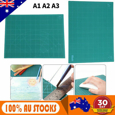 A1 Size 60x90cm Thick 5-Ply Self Healing Craft Cutting Mat 2-Side Print Quilting