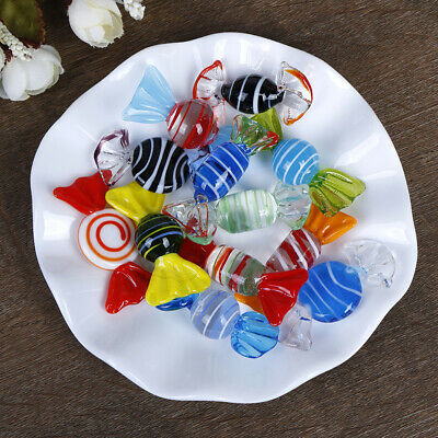 1/5/10Pcs Vintage glass sweets wedding party candy Christmas decoration TK F4