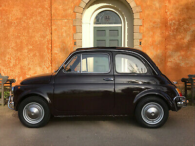 FIAT 500L 1970 in Rare 'Cioccolato' - Restored at Huge Expense! Simply the Best!