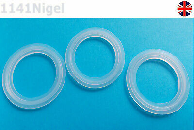 Silicon Gasket Fits 50.5mm Sanitary Tri Clamp Type Ferrule