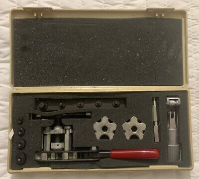 Jasco - Wolco Model 100 Tube Flaring Tool Kit With Accesories & Carrying Case