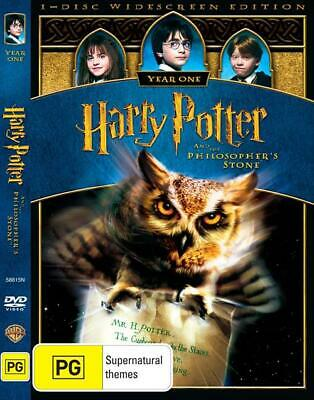 Harry Potter and the Philosopher's Stone (DVD, 2009) Daniel Radcliffe