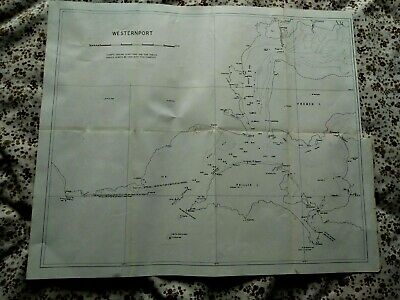 Old Westernport Map Phillip Island French Island Victoria Australia
