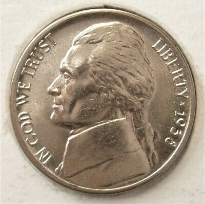 1938 Gem BU Jefferson Nickel Pulled From OBW Roll