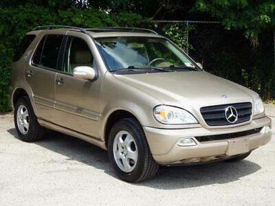 2003 Mercedes-Benz M-Class ML320 4MATIC AWD 4WD CLEAN CARFAX! 87K Mls! UNROOF LEATHER HEATD SEATS KEYLESS ENTRY COLD AC BOSE SOUND ML-320 ML-350 ML500