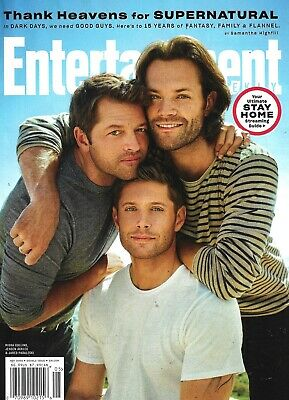 Entertainment WEEKLY Magazine May 2020 - SUPERNATURAL 15 YEARS of FANTASY