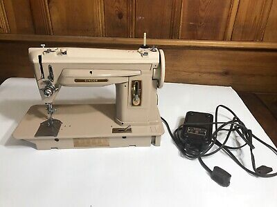 Vintage Singer Sewing Machine Slant Needle Model 404 -- Professionally Serviced