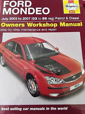 HAYNES MANUAL Ford Mondeo Petrol /& Diesel July 2003-2007 New Hatchback 4619
