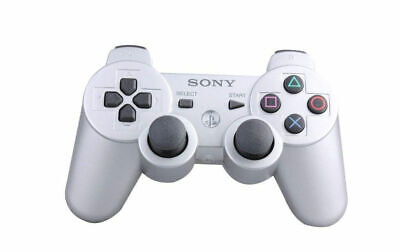 Original Sony PlayStation 3 PS3 Controller DualShock 3 Wireless Gamepad White CF