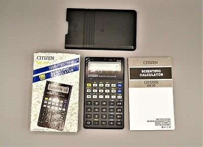 Calculadora Citizen SR-35 programmable scientific pocket calculator, Calculadora